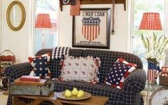 Americana Home Decor Cute Americana Living Room. | Primitive, Folk Art, Colonial Style