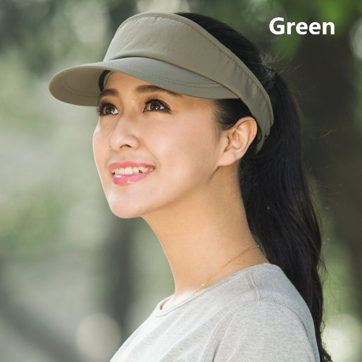 Womens visor hat outdoor sports protection hats UV package