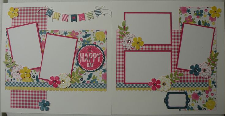 Oh Happy Day!  Created by Sandy Mott www.the scrapnstampshop.blogspot.com