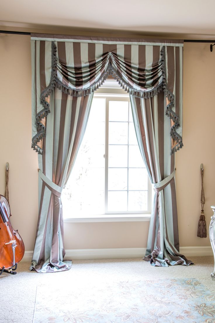 Blue and brown window curtains - 17 Best Ideas About Valance Curtains On Pinterest Valance Window Treatments Curtains With Valance And Custom Window Treatments