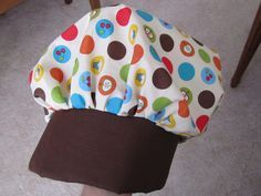 Twelve Crafts Till Christmas: Child's Chef Hat Tutorial