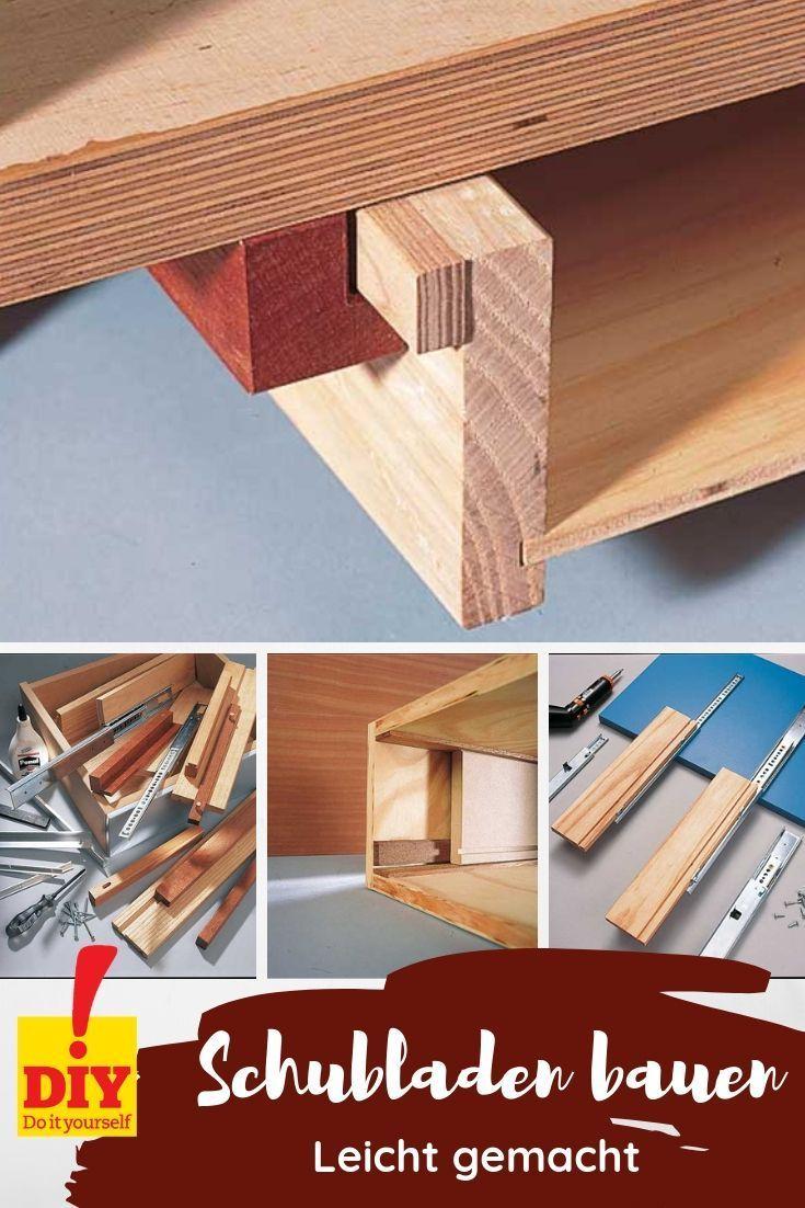 Schubladen Bauen In 2020 Mit Bildern Schublade Bauen