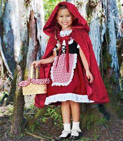 Disfraz de Caperucita - red riding hood costume