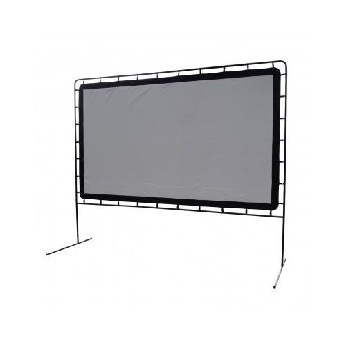 Large Projector Screen Outdoor Movie Theater Backyard Home Cinema Big Screens HD #CampChef