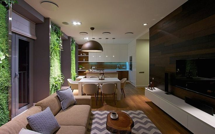 Green Apartment by SVOYA Studio | HomeAdore