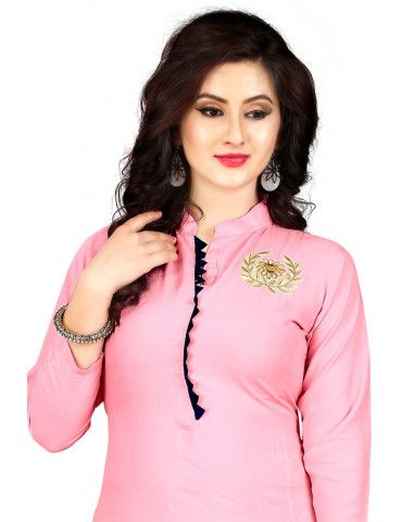 #New #Designer #Kurti With #Amazing #Style. #Women #NewStyle #Calturer & #Fashionable #Attractive #Look #Kurti. #cotton #silk #delhi #exclusive #ethnic #desi #bangalore #designer #chennai #kutchi #handblock #indianmakeup #pure #kalamkari #shopping #fashionaddict #jewellerydesign #trendy #online #pants #trouser #shalwar #pant #shalwarkameez #kameez #shaadi #eid #pakistanifashion #udaipur #gorgeous #Pink #PinkKurti
