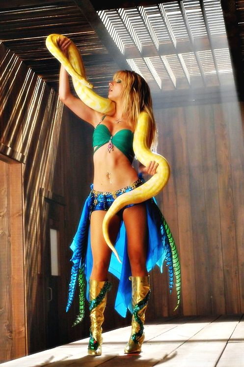 Heather Morris as Britney Spears (Brittany S. Pears #gleereference) :)