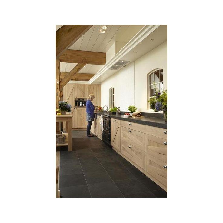 25 beste idee n over leisteen keuken op pinterest leistenen vloer keuken leisteen tegels in - Eigentijdse keuken grijs ...