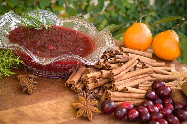 Homemade Cranberry Sauce via SheKnows