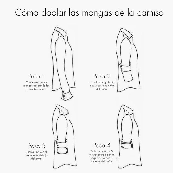 M s de 1000 ideas sobre como doblar una camisa en - Tabla doblar camisetas ...