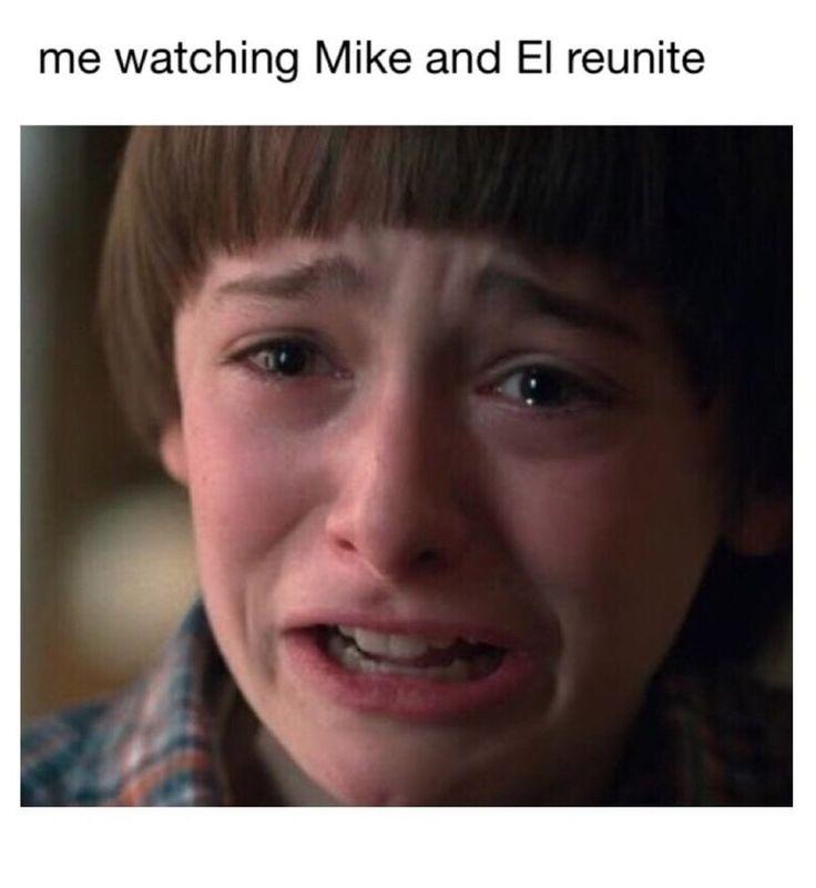 Mike and Eleven | Stranger Things meme | #StrangerThings2 #Mileven
