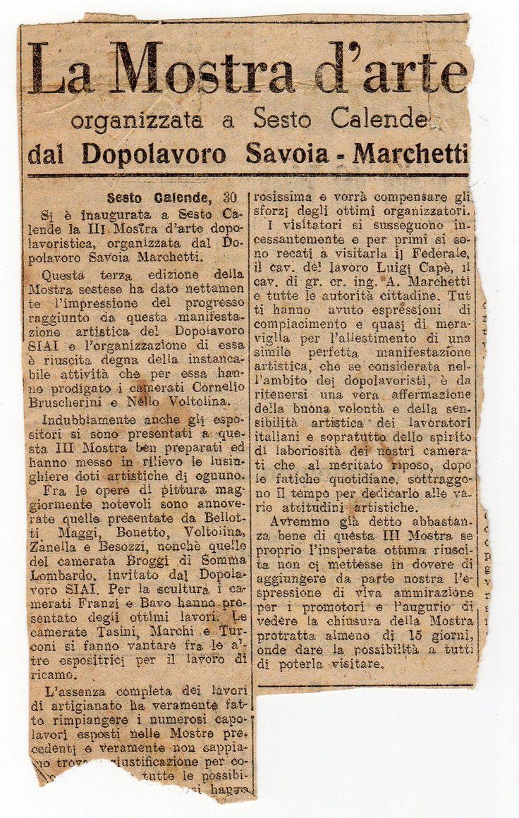 1942 Giornale  testo redazione La Prealpina ,Varese