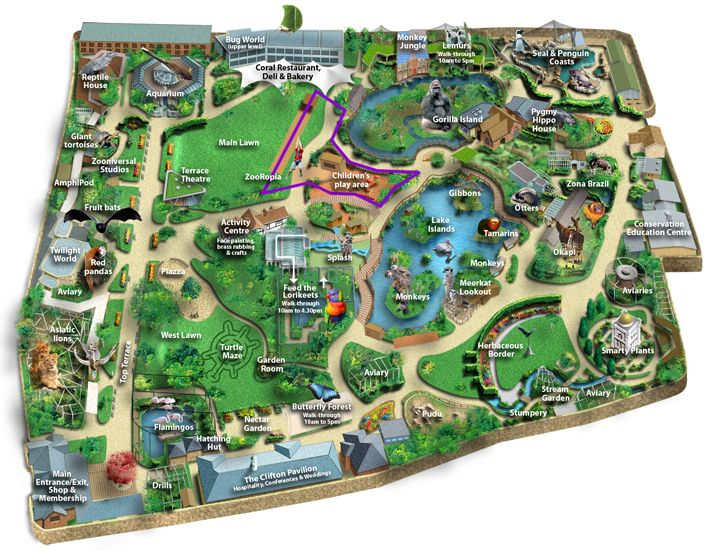 Best Zoos Around The World Images On Pinterest Zoos The Zoo - Houston zoo map
