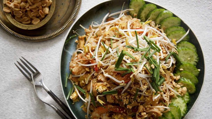 Secret's in the sauce: Karen Martini's pad Thai. This is such a simple classic, but when it's good, it's just so delicious. Making a good tamarind sauce first is the real key to creating a great base flavour.