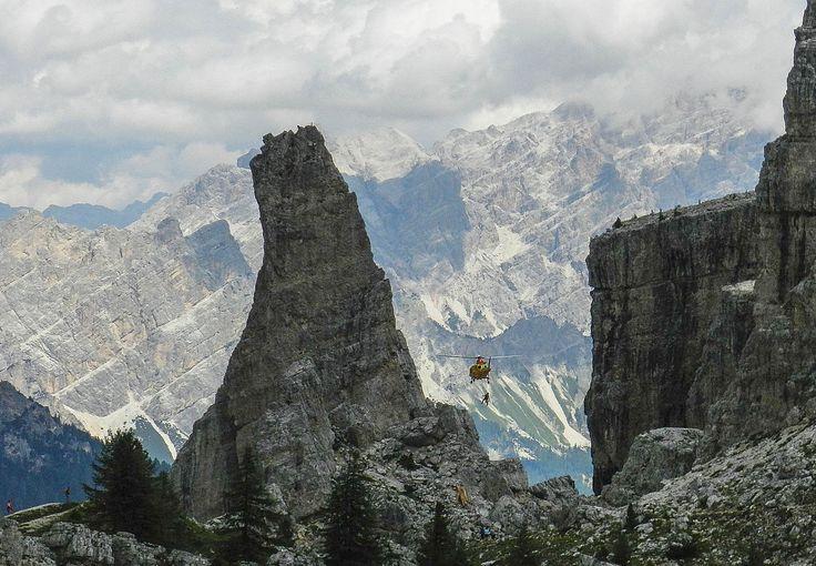Salvataggio in montagna