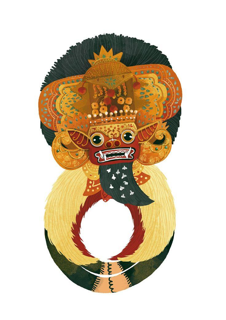 barong bali dance number 8