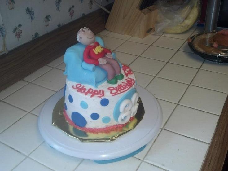 Happy Birthday Grandpa cake  Special occasion cakes  Pinterest