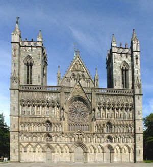 St. Olav's Shrine was the resting place of the earthly remains of St. Olav, Norway's patron saint, behind the high altar of Nidaros Cathedral in Trondheim, Norway,http://www.pilgrim-info.com/europe/norway/nidaros-cathedral-trondheim/
