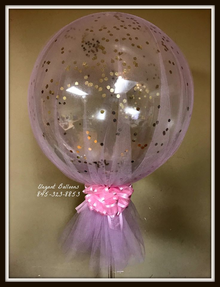398 best images about elegant balloons on pinterest for Confetti dipped balloons