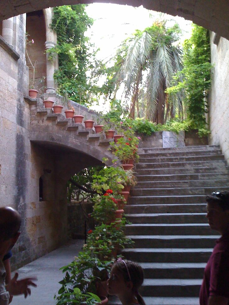 Physician's Garden in Old Pompeii.