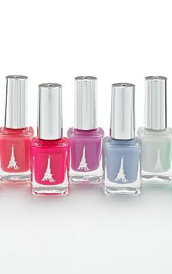 Simple Pleasures 7-pc. Eiffel Tower Nail Polish Gift Set