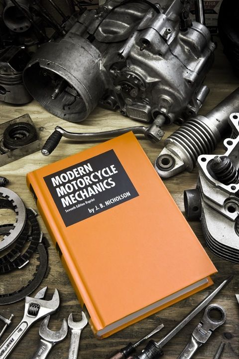 Modern Motorcycle Mechanics by J.B. Nicholson reissued.