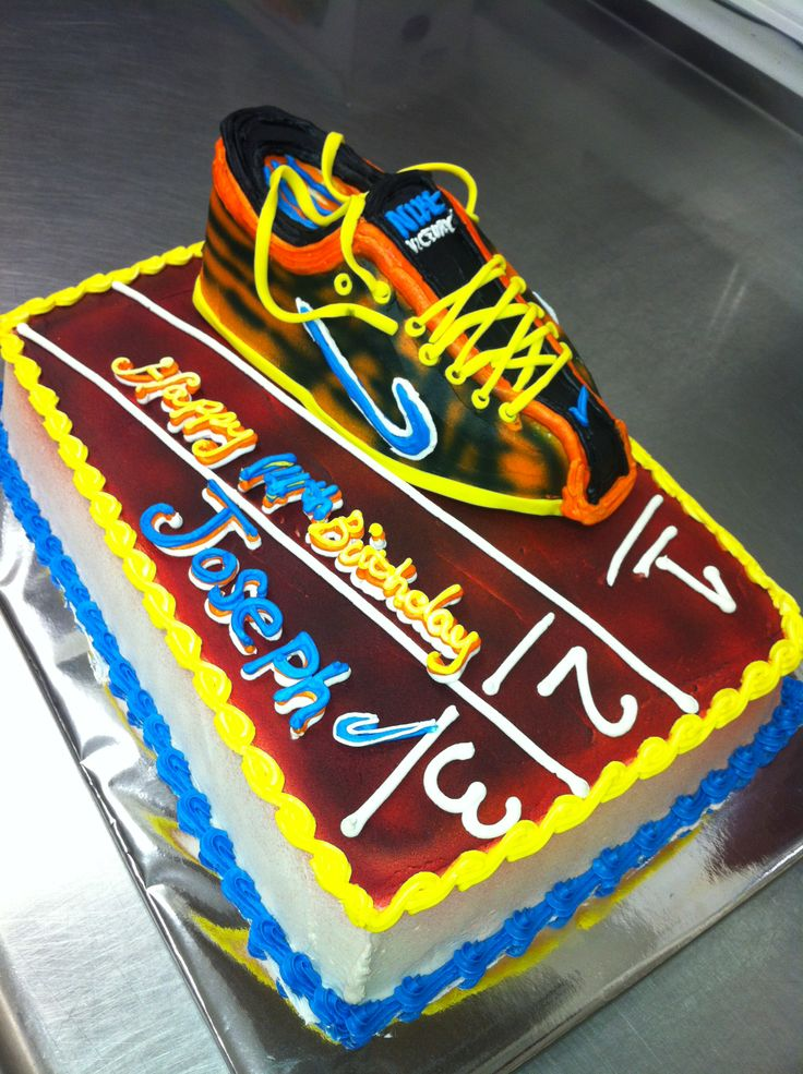 Cross Country Cake Decorating Ideas 6210 Track Runner Them