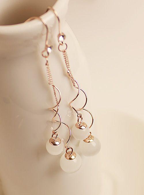 Free shipping  high quality elegant long design - eye fashion design long earrings earring $12.80