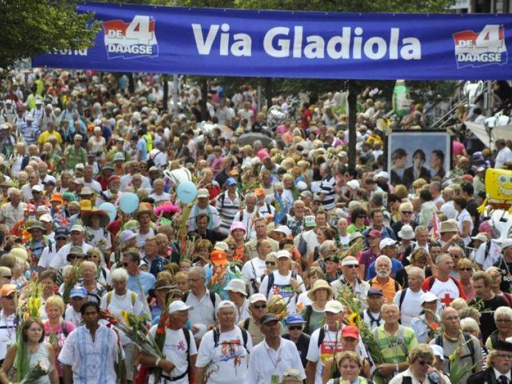 via gladiola#vierdaagse Nijmegen