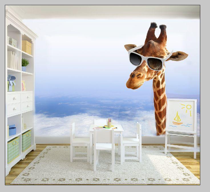 By nie czuć się samemu w pokoju dobrze mieć jakieś zwierzątko w domu i dlaczego nie może być to żyrafa :-) http://www.fototapeta24.pl/getMediaData.php?id=70889869 #fototapeta #fototapeta24 #homedecor #kidsroomdecor #babyroom #kidsroom #decor #desing #wystrójwnętrz #aranżacjawnętrz