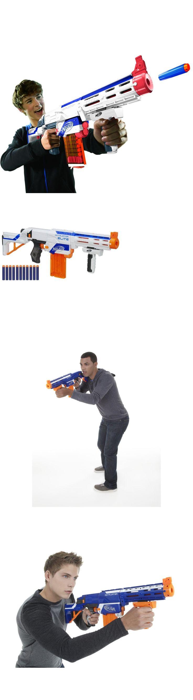 Dart Guns and Soft Darts 158749: N-Strike Elite Retaliator Dart Blaster Gun Toy Fires Darts Up To 90 Feet New -> BUY IT NOW ONLY: $35.64 on eBay!