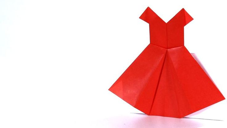 How to Make a Dress   Origami