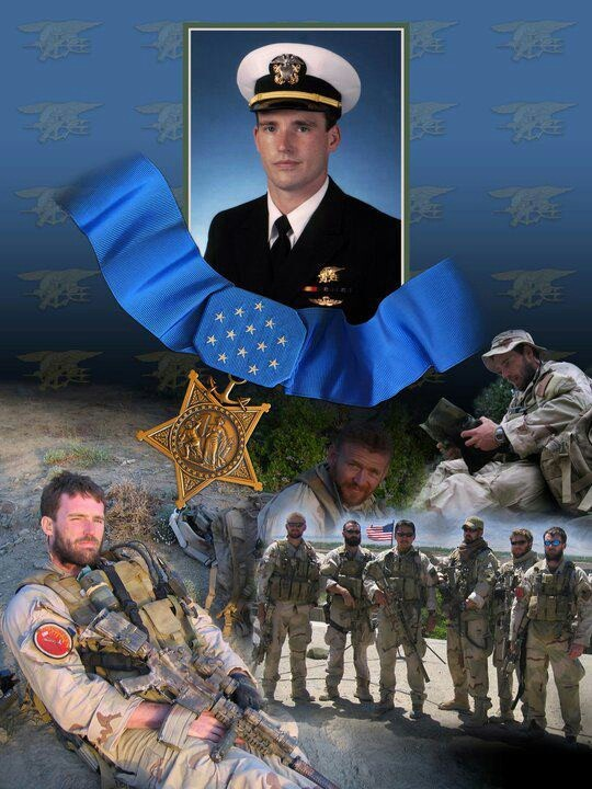 Lieutenant Michael Patrick Murphy, USN, SEAL. Medal of Honor recipient for courageous action in the Hindu Kush area of Afghanistan during Operation Red Wings, June 2005.