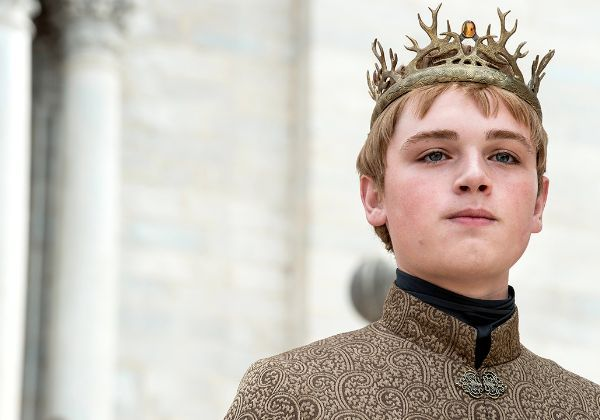 What Do 'Game Of Thrones' Stars Look Like In Normal Life? Tommen Baratheon (Joffrey's little brother was named king after his older brother was poisoned. He eventually committed suicide after his wife was locked up by the religious sept.)