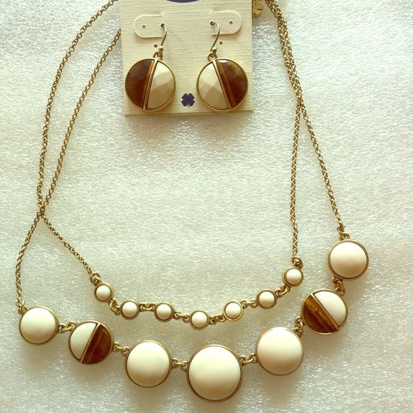 "Lucky brand set Lucky brand set, necklace first layer is 16"" and second layer is 18"" Lucky Brand Jewelry"