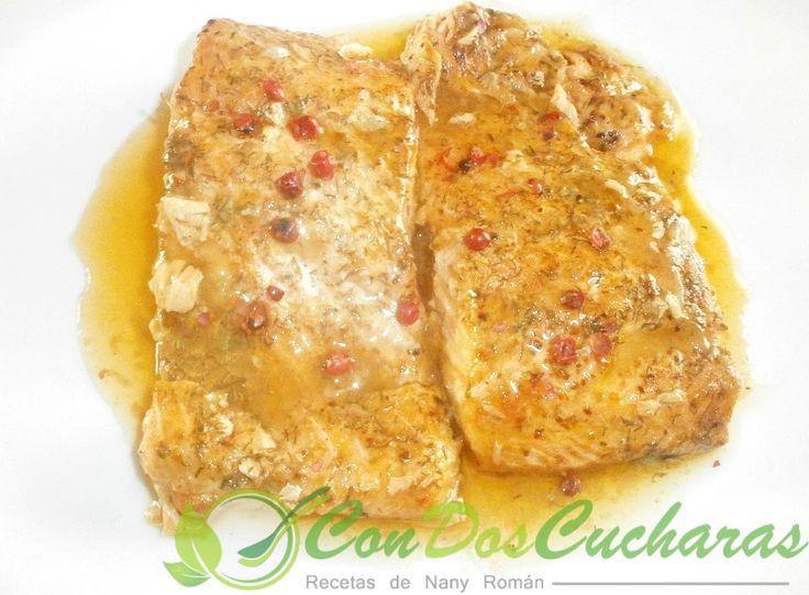 ConDosCucharas.com Trucha especiada al horno - ConDosCucharas.com