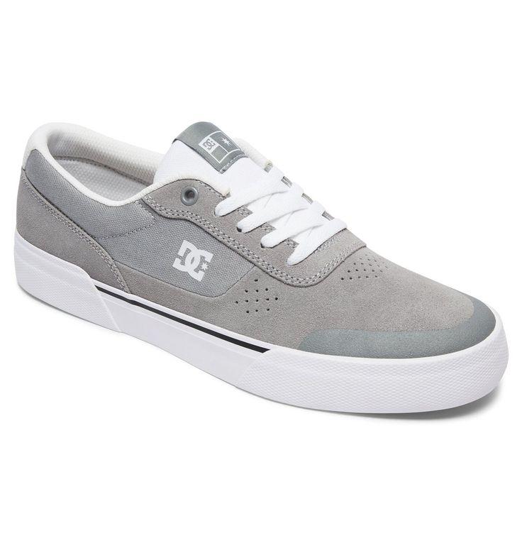 dcshoes, Switch Plus S - Zapatillas De Skate, GREY/WHITE (grw)