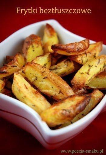 Dietetyczne frytki beztłuszczowe | Poezja smaku