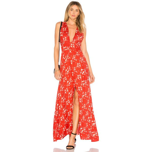 Tiare Hawaii Mesa Dress (€105) ❤ liked on Polyvore featuring dresses, rayon dress, back zipper dress, zip back dress, front slit dress and viscose dresses