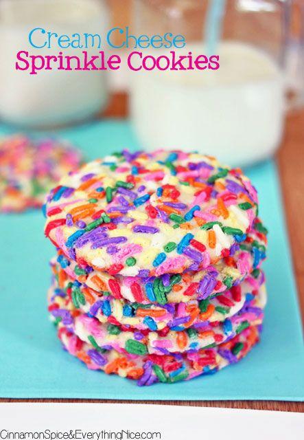 Cream Cheese Sprinkle Cookies