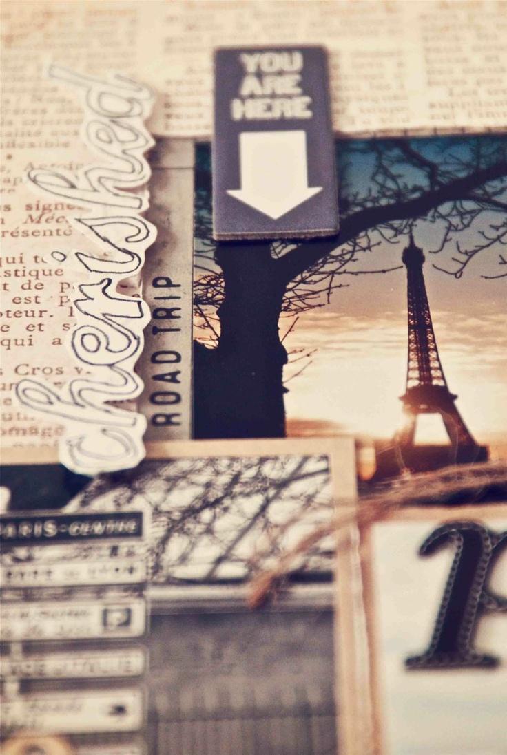 Journey scrapbook ideas - Ria Nirwana S Home Scrapbooking Scrapbook Diy Art Paris Memories