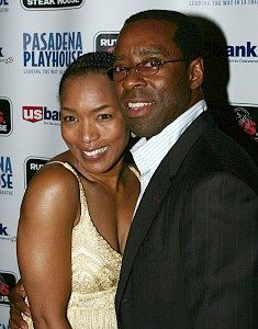Angela Bassett Husband | Angela Bassett with her husband, actor Courtney B. Vance