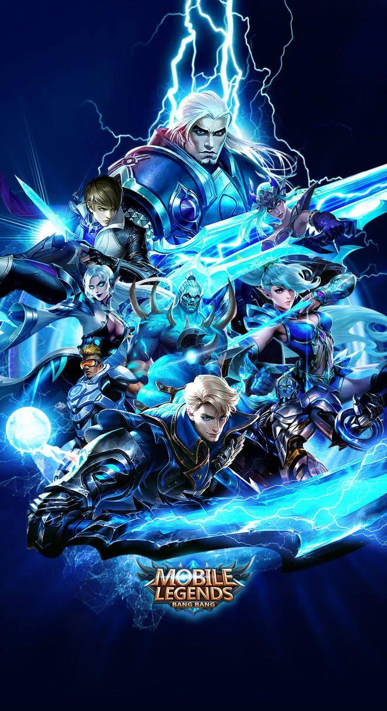 Logo Squad Mobile Legend : squad, mobile, legend, Mobile, Legends, Xuneo, Desain, Karakter, Game,, Gambar,, Kucing, Hitam
