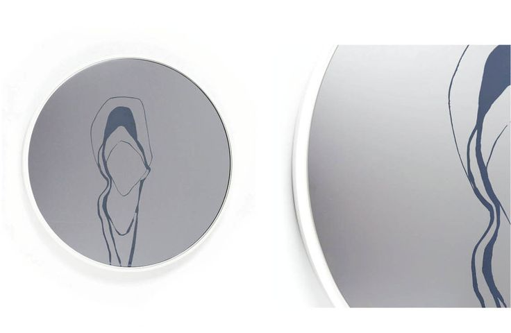 "Smoke Grey/White Small Circle Mirror 18"" diameter #mirror #mirrors #mirrorglass #design #designlovers #designporn #luxury #luxuryinteriors #decor #decoration #interiordesign #interiorobsessed #art #madeincanada #canadianmade #inspirationdesign #handmade #collectibledesign #minimal #pinterestdesign #SS17 #handcrafted #modernliving #interiors #modernmirror #contemporarydesign #luxuriousdesign #homedecor #homedecoration #wallartdecor #wallart #montreal #canada"