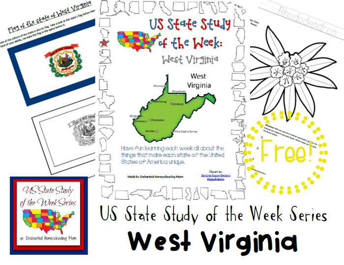 FREE West Virginia State Study Pack