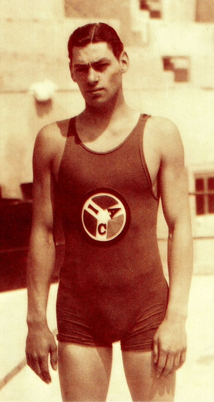 JOHNNY WEISSMULLER Olympic Champion swimmer, actor. Holder of 67 world swimming…
