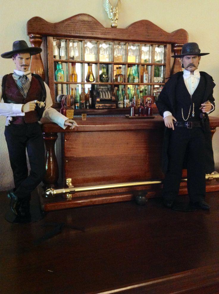 Tombstone Wyatt Earp doc holiday bar scene