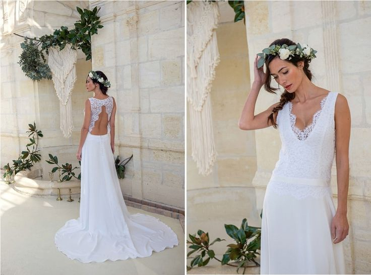 Sur le blog, découvrez une créatrice bordelaise de robes de mariée particulièrement talentueuse : Elise Martimort. Sa collection 2018 est à découvrir ici  #wedding #robedemariée #weddinggown #weddingdress