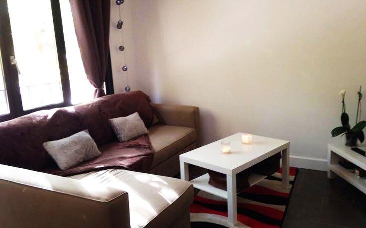 Marjorie @leblogdes5filles a déniché ce grand #plaid #choco 220x240 cm pour son canapé à 35€ chez #babou, joli non ?