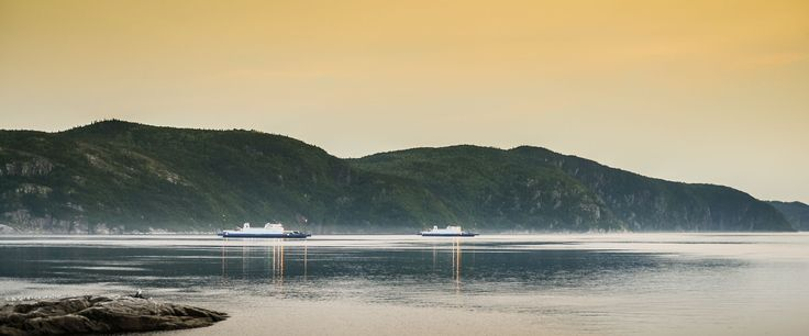 Tadoussac–Baie-Sainte-Catherine Ferry - The free Tadoussac–Baie-Sainte-Catherine ferry links two sections of Route 138, 24 hours a day, year-round.  The 10-minute crossing gives you the opportunity to relax while stretching your legs on the deck and breathing in the bracing sea air. Depending on the season and time of day, there are crossings every 20, 40 or 60 minutes. In the summer, a third ship is added to the fleet, which means crossings are available every 13 minutes during the day.
